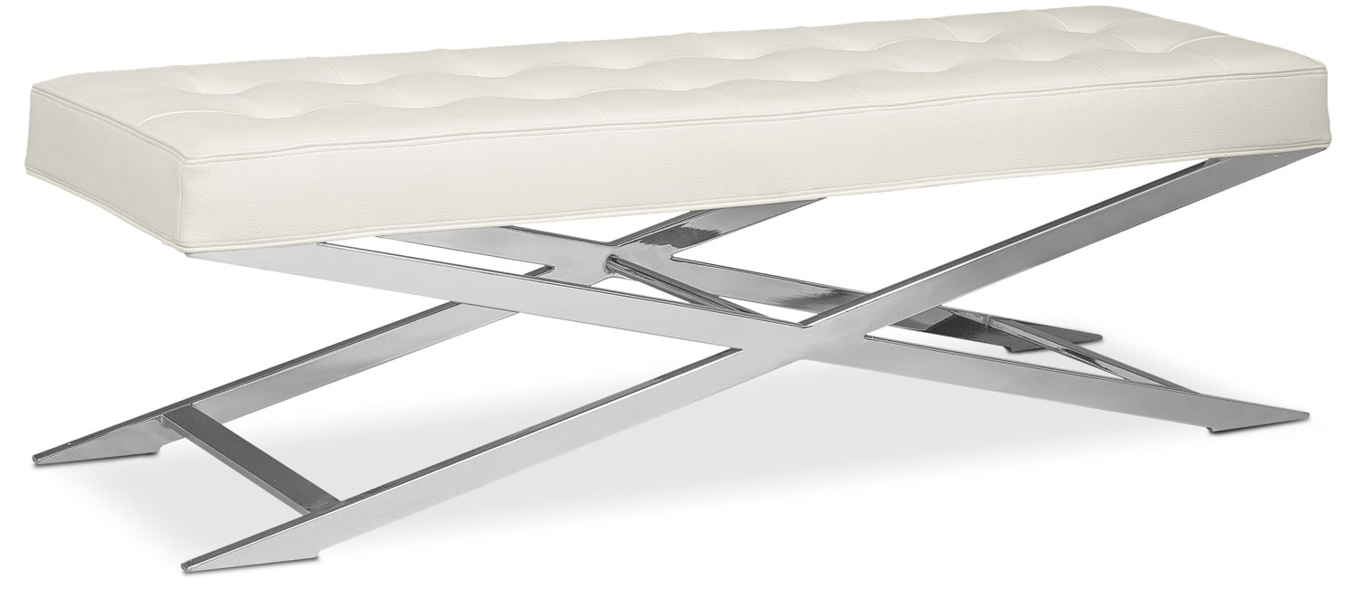Excalibur Bench - White