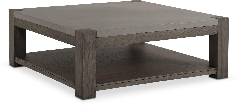 Kellen Square Cocktail Table - Gray