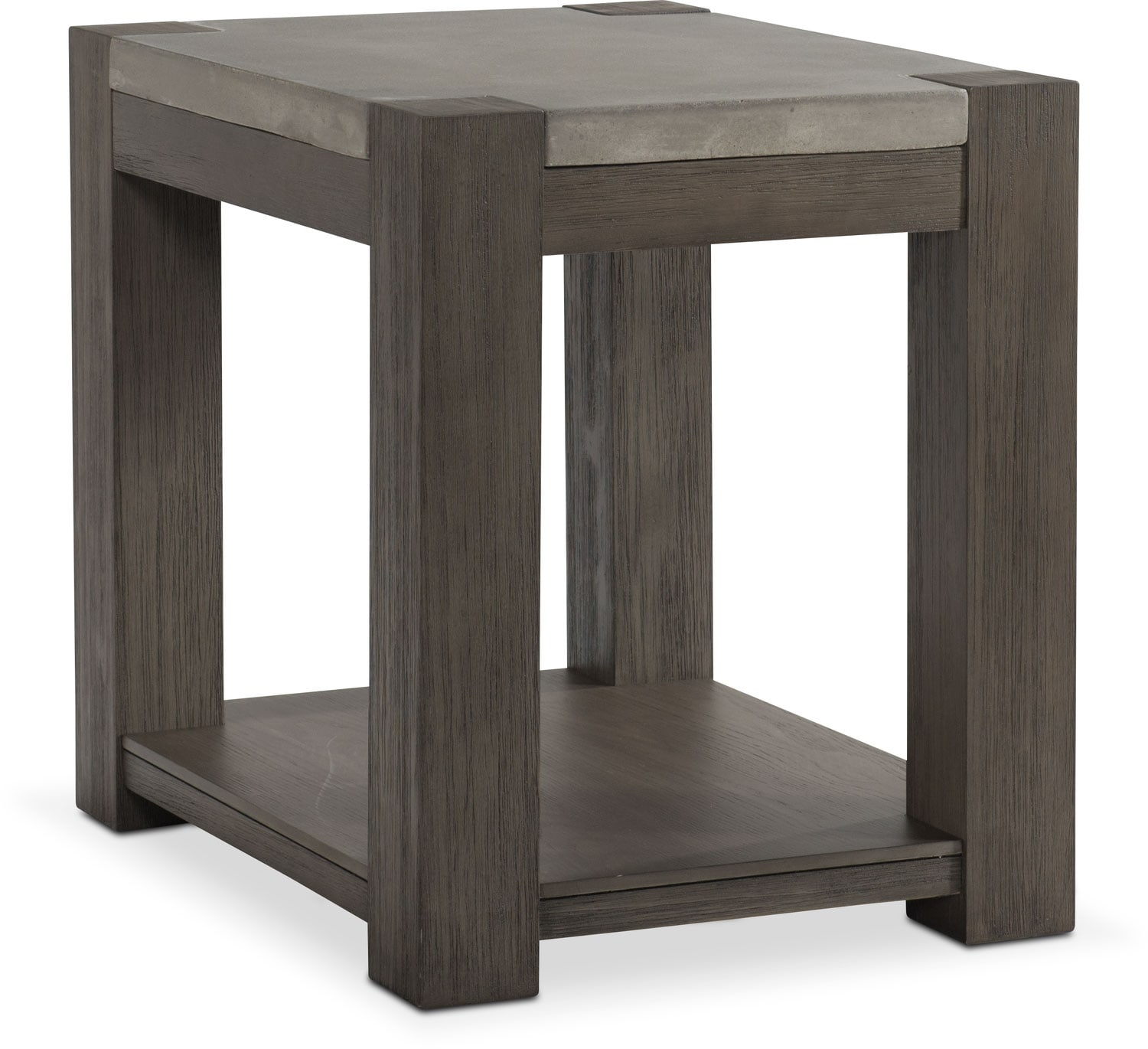 Kellen Chairside Table   Gray