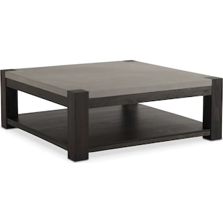 Kellen Square Cocktail Table - Umber