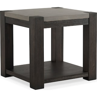 Kellen End Table - Umber