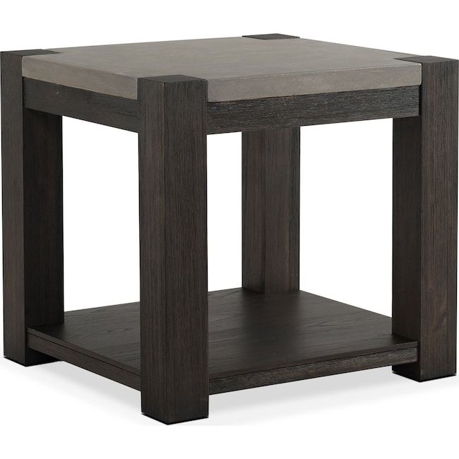 Accent and Occasional Furniture - Kellen End Table - Umber