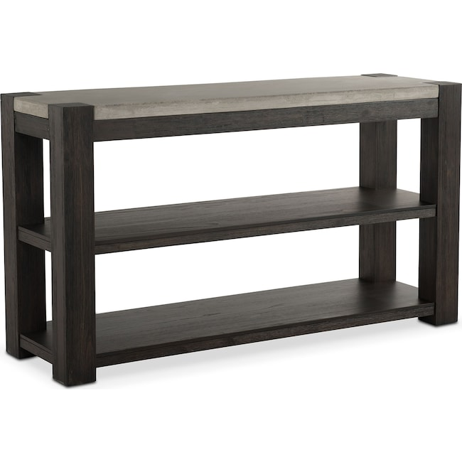 Accent and Occasional Furniture - Kellen Sofa Table - Umber