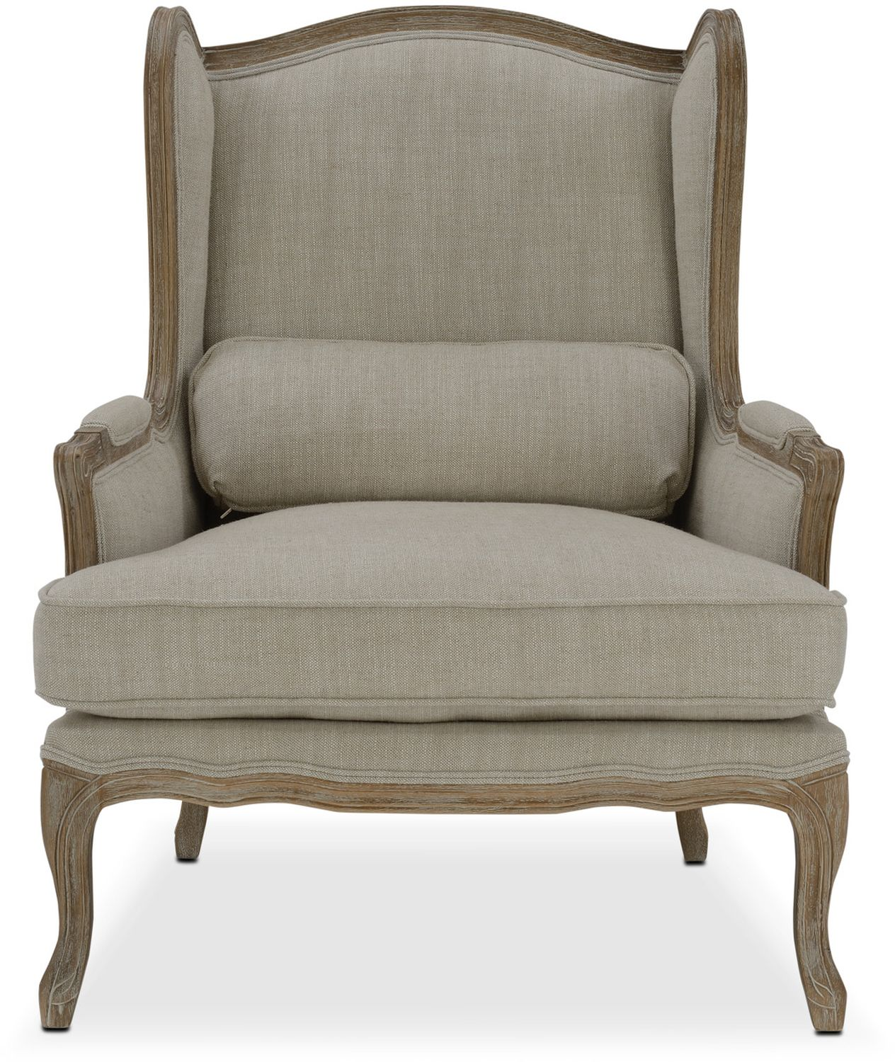 Maria Accent Chair Ivory Value City Furniture And