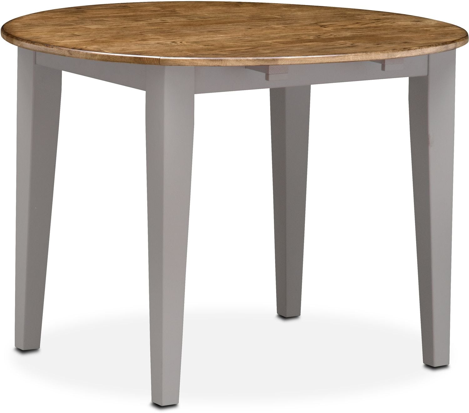 Nantucket Drop Leaf Table Oak and Gray