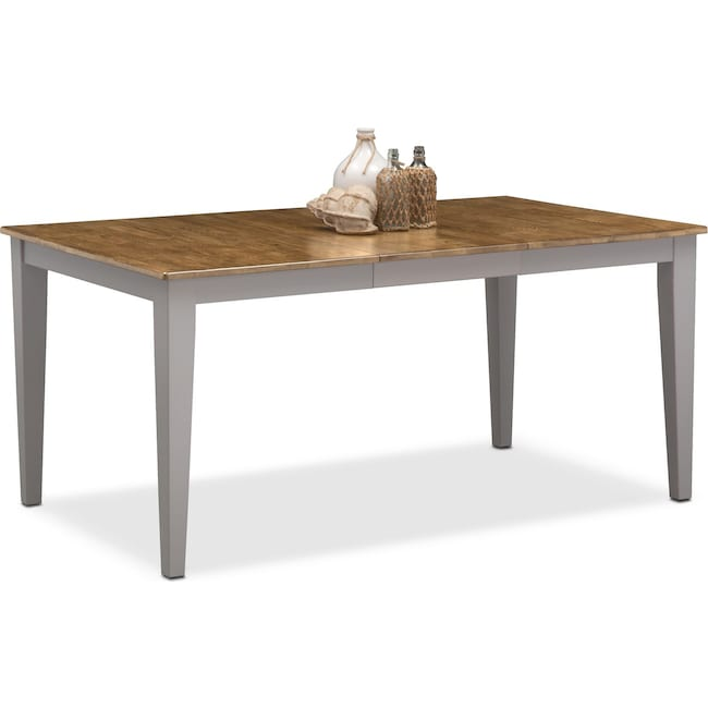 Dining Room Furniture - Nantucket Dining Table -  Oak and Gray