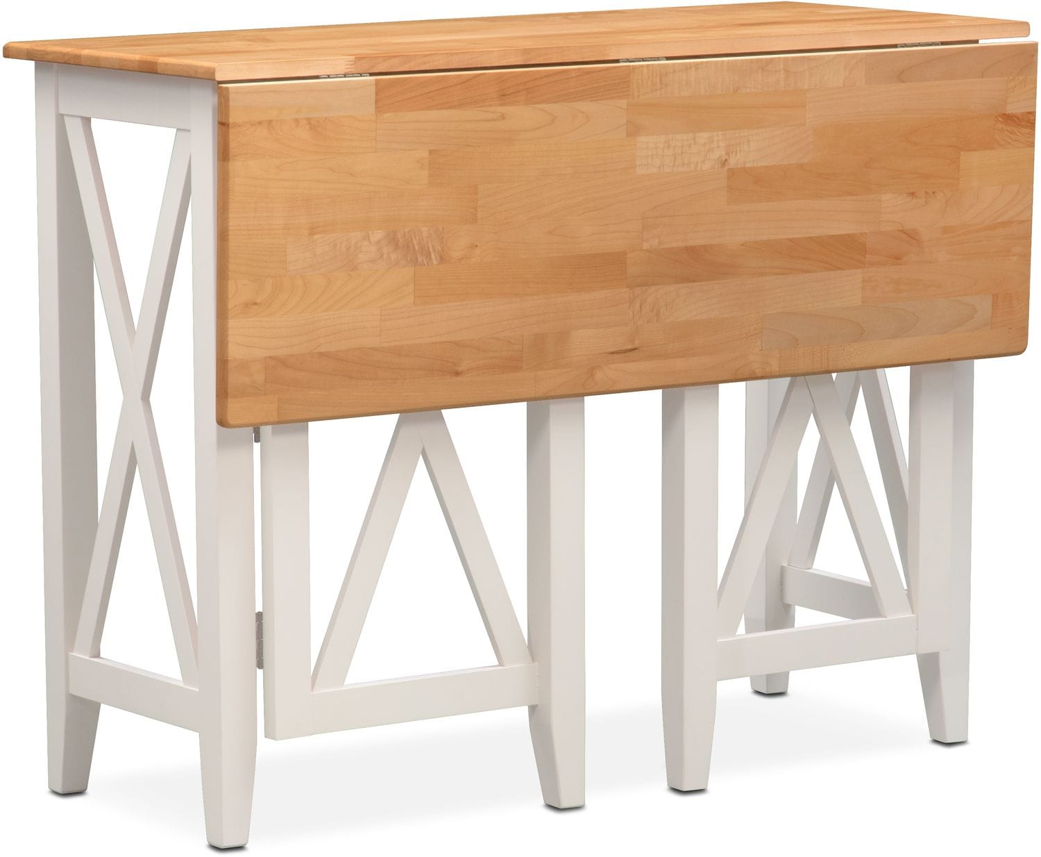 Dining Room Furniture - Nantucket Breakfast Bar - Maple and White