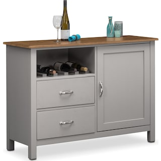 Nantucket Sideboard - Oak and Gray