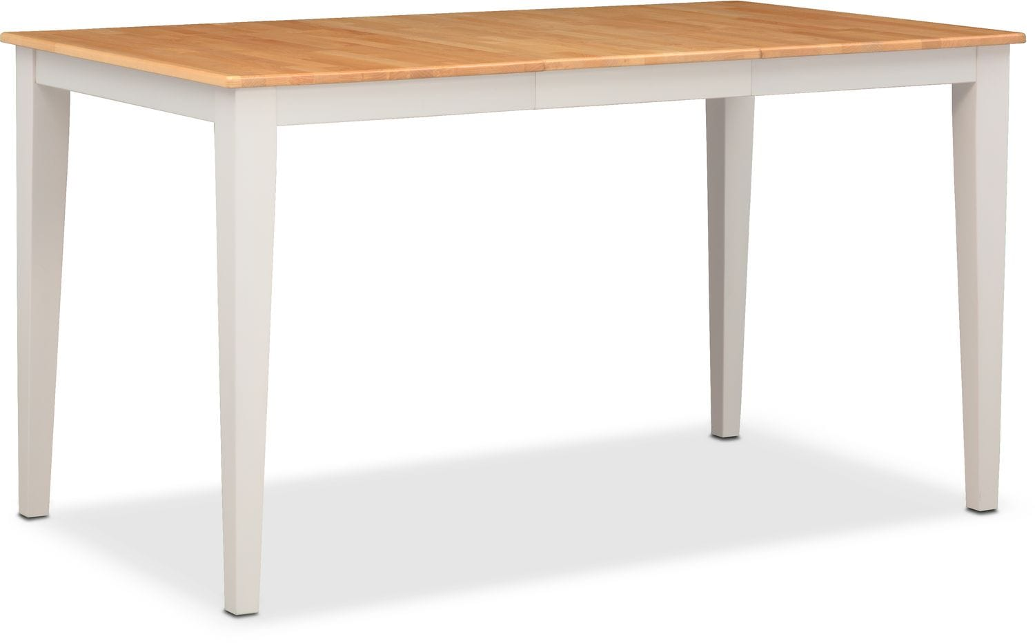 Nantucket Counter-Height Table - Maple and White