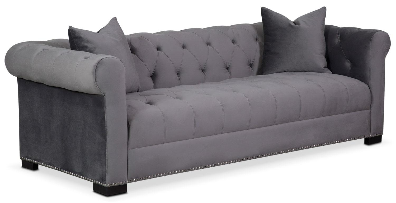 Couture Sofa - Gray