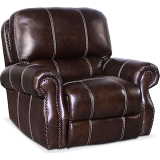 Dartmouth Power Recliner - Chocolate