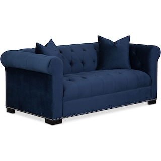 Couture Apartment Sofa - Indigo