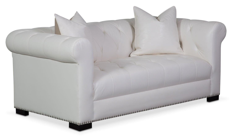 Couture Apartment Sofa - White