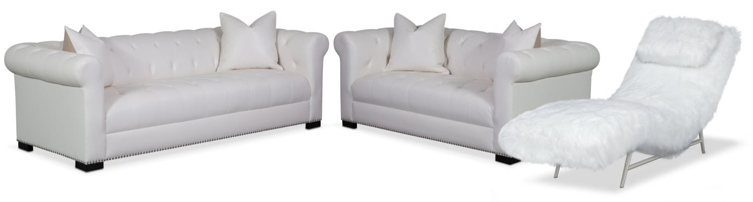 living room furniture couture sofa apartment sofa and chaise set white