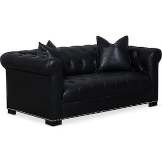 Couture Apartment Sofa - Black