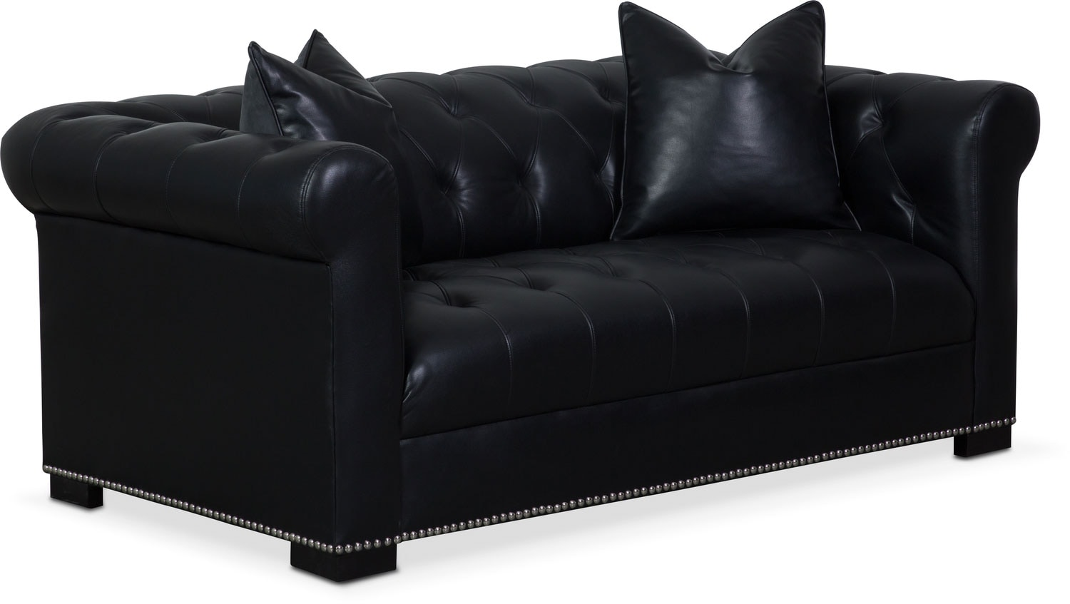 couture apartment sofa black