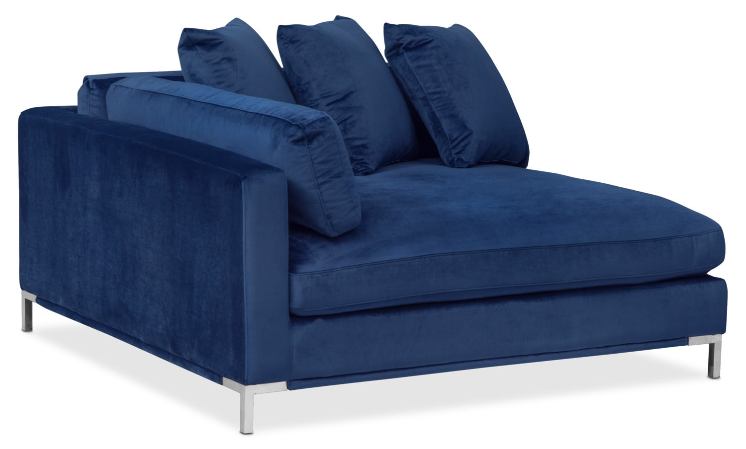 Living Room Furniture - Moda Corner Sofa - Blue