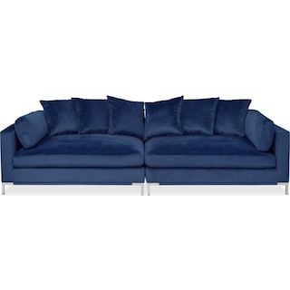 Moda 2-Piece Sofa - Blue