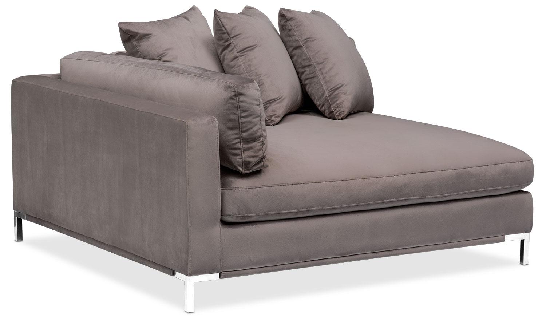 Living Room Furniture - Moda Corner Sofa - Oyster