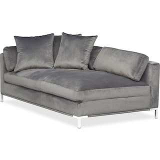 Moda Left Facing Chaise Gray