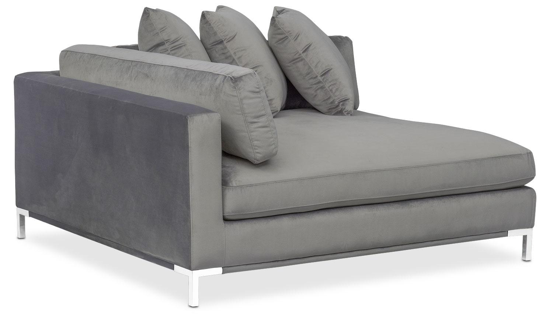 Wonderful Living Room Furniture   Moda Corner Sofa   Gray