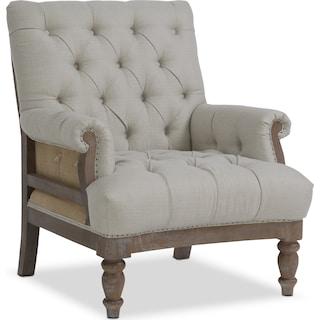 Bridget Accent Chair - Cream