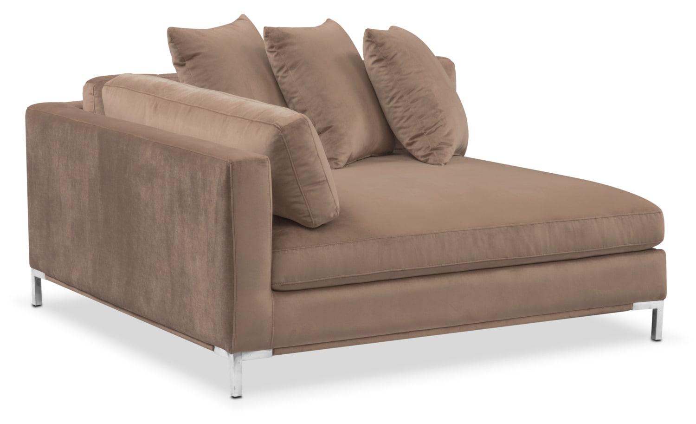 Moda Corner Sofa   Mushroom