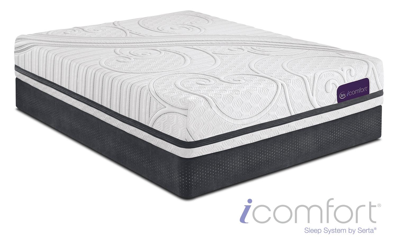 savant iii firm twin xl mattress and foundation set