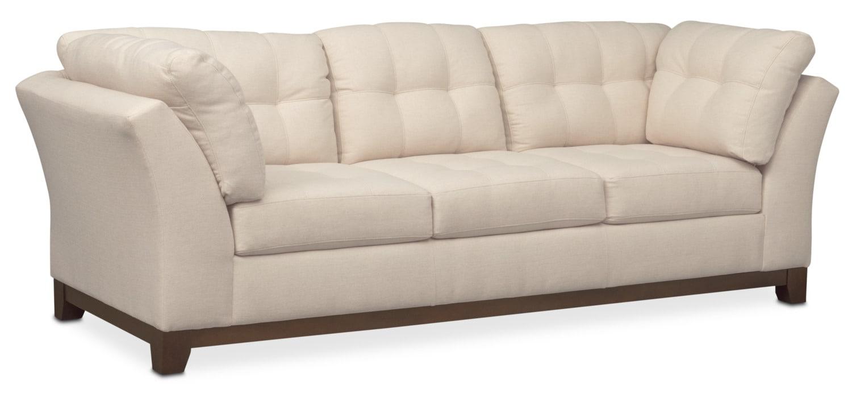 Living Room Furniture - Sebring Sofa - Oyster