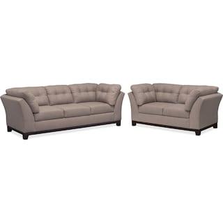 Sebring Sofa and Loveseat Set