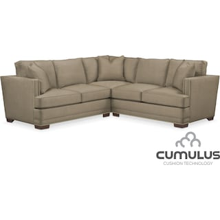 Arden Cumulus 2-Piece Sectional with Left-Facing Loveseat - Stately L Mondo