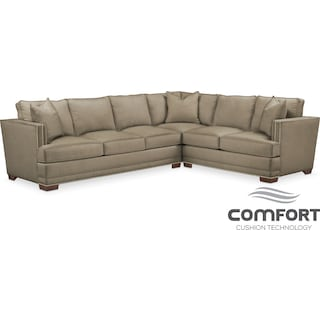Arden Comfort 2-Piece Sectional with Left-Facing Sofa - Stately L Mondo