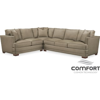 Arden Comfort 2-Piece Sectional with Right-Facing Sofa - Stately L Mondo