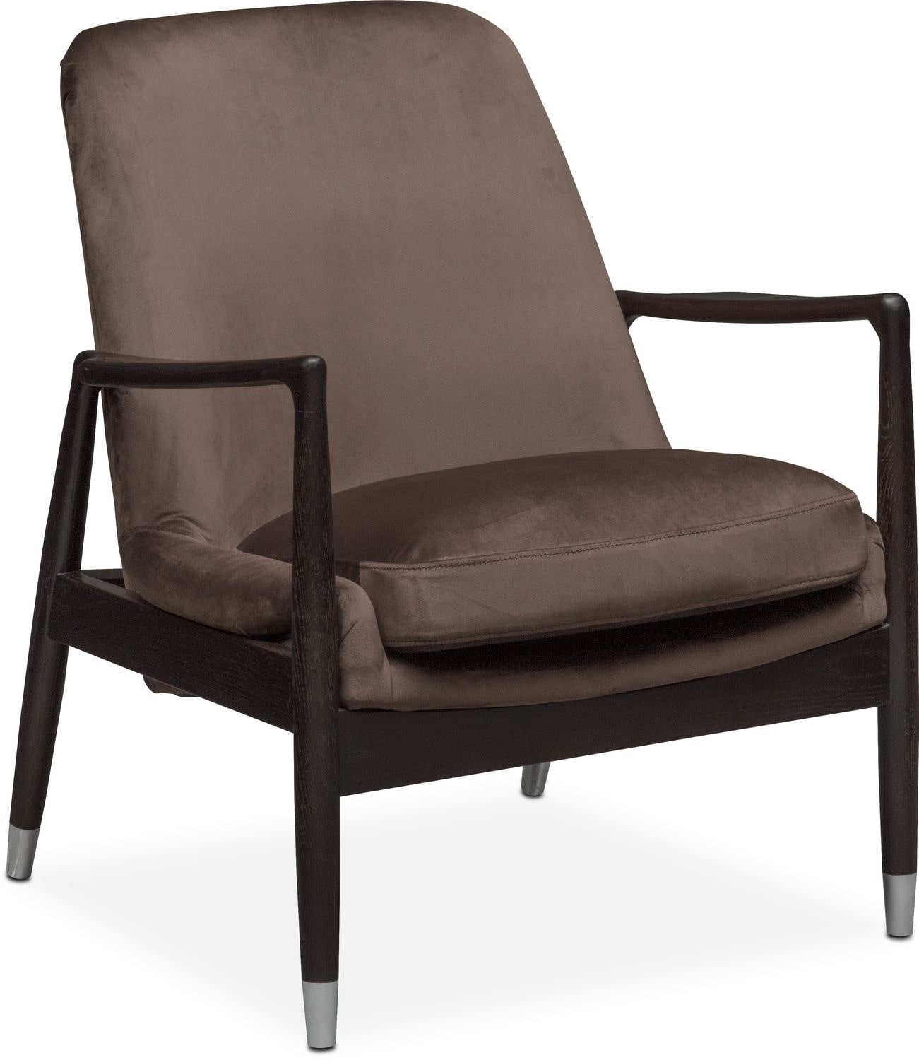 Accent and Occasional Furniture - Mastro Accent Chair - Brown
