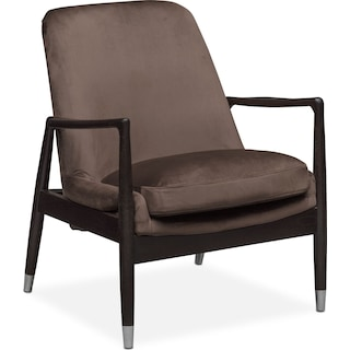 Mastro Accent Chair - Brown