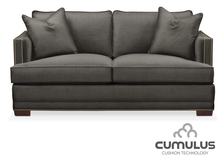 Living Room Furniture - Arden Cumulus Apartment Sofa - Sterling