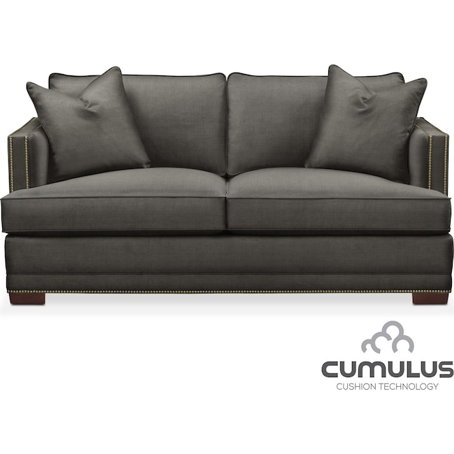 Living Room Furniture - Arden Cumulus Apartment Sofa - Stately L Sterling