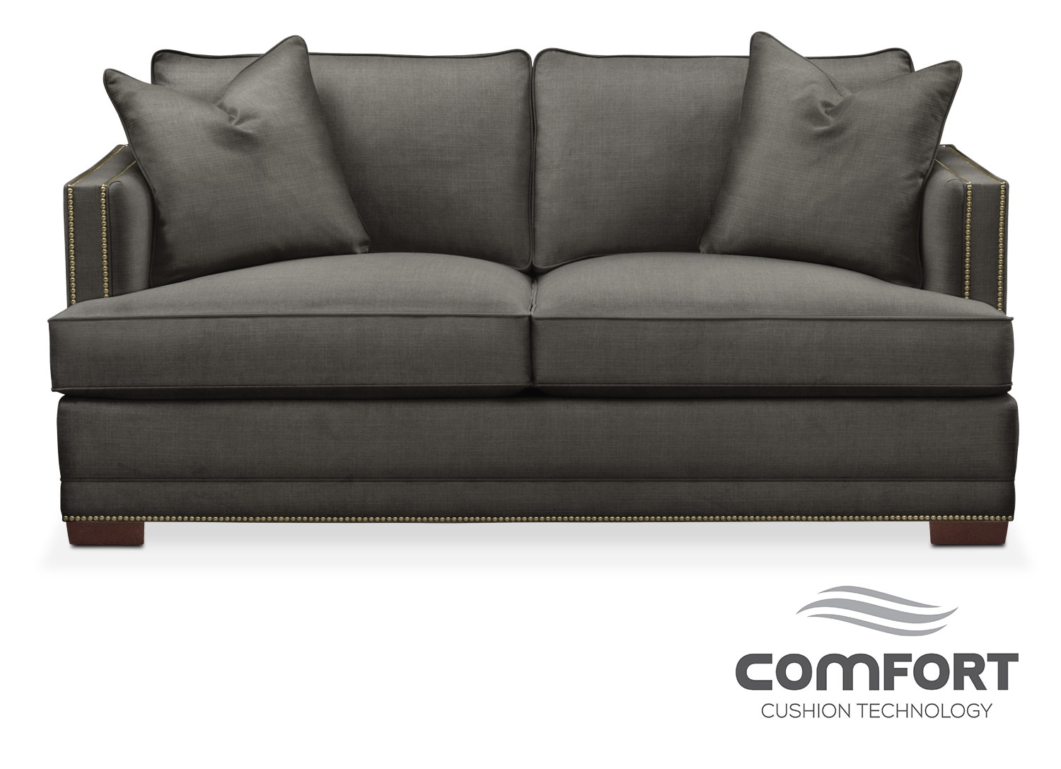 Black friday value city furniture - Arden Comfort Apartment Sofa Stately L Sterling