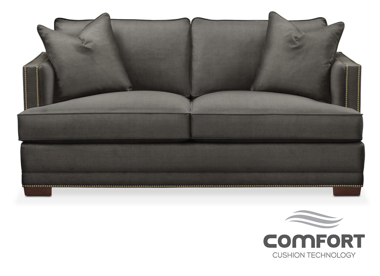 Arden Comfort Apartment Sofa - Sterling