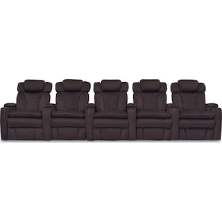 Fierro 5-Piece Dual-Power Reclining Sectional