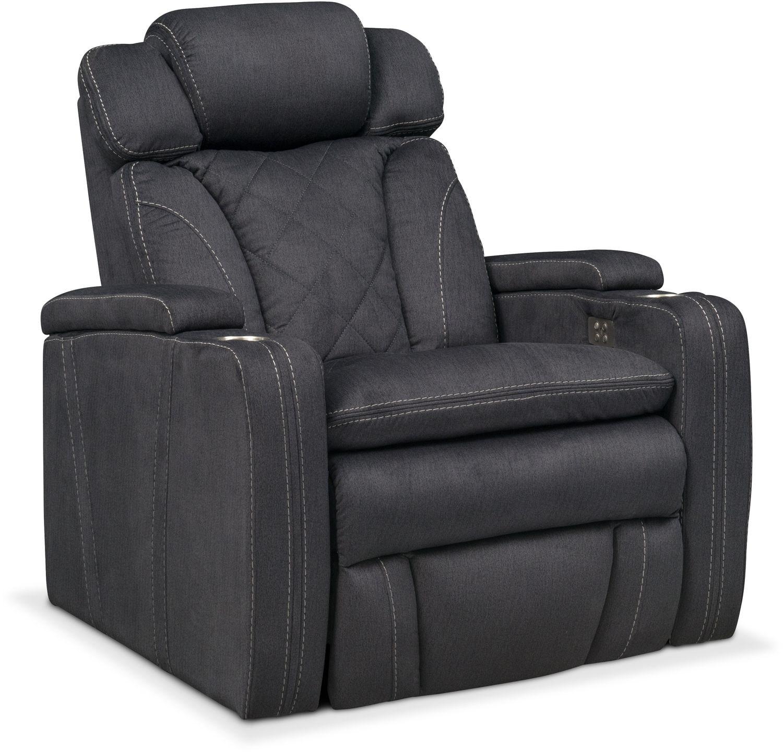 Fiero Power Recliner - Charcoal  sc 1 st  Value City Furniture & Recliners u0026 Rockers | Value City Furniture | Value City Furniture islam-shia.org