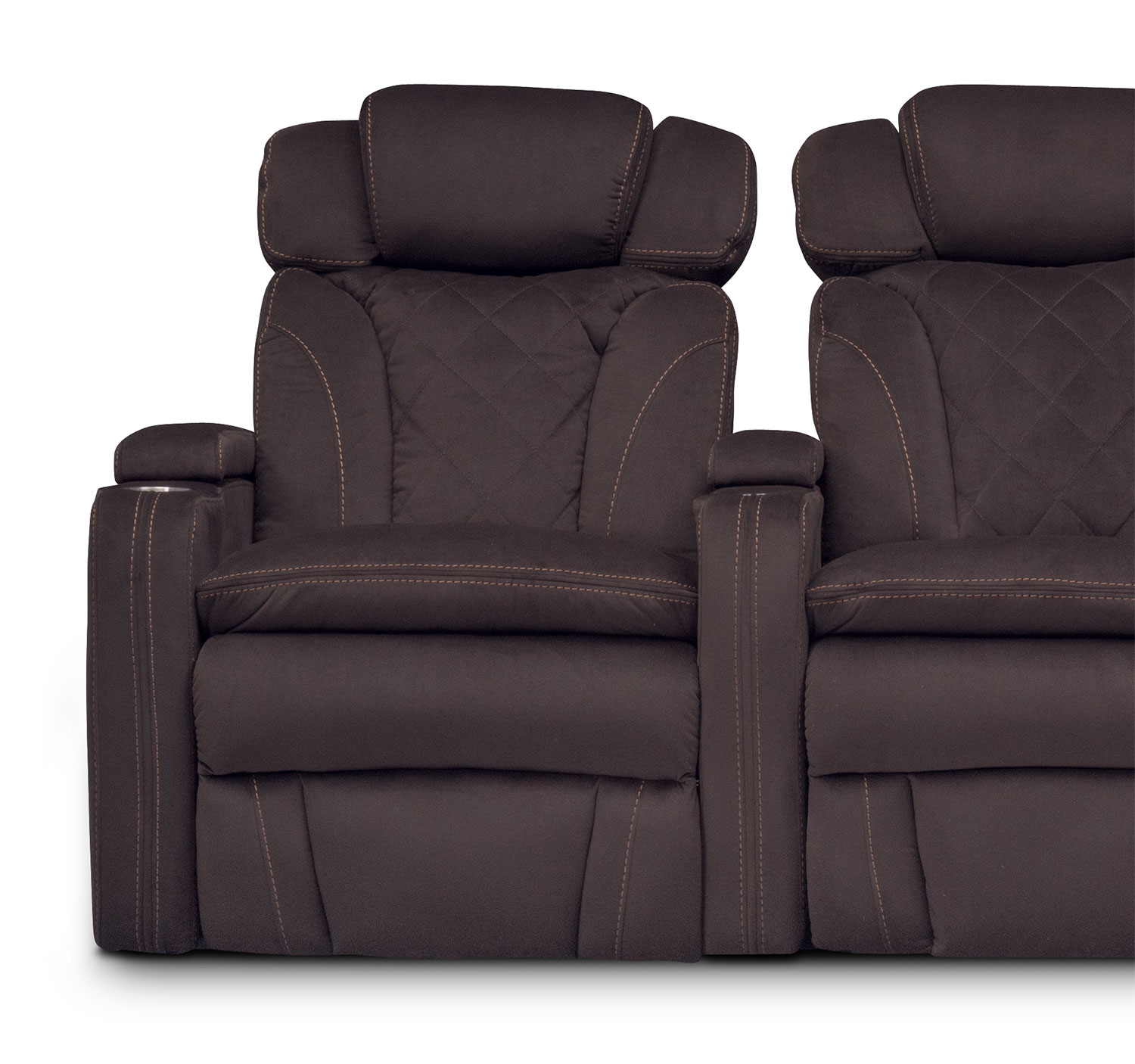 Fiero 3 Piece Power Reclining Home Theater Sectional