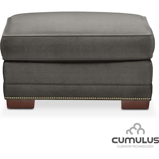 Arden Cumulus Ottoman - Stately L Sterling
