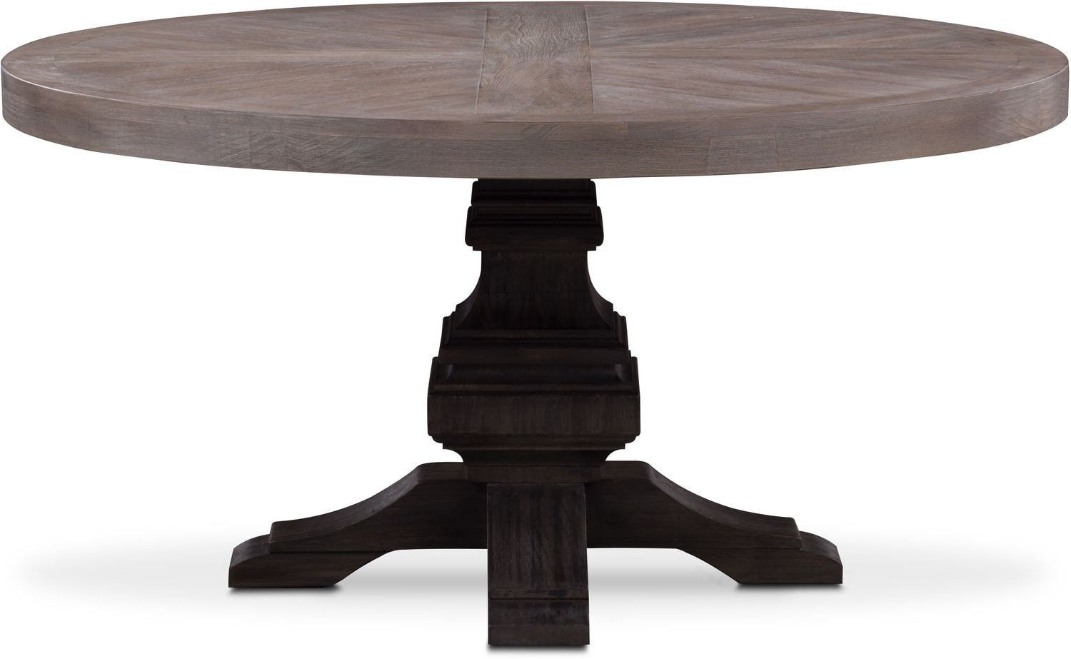 Dining Room Furniture - Lancaster Round Wood Top Table