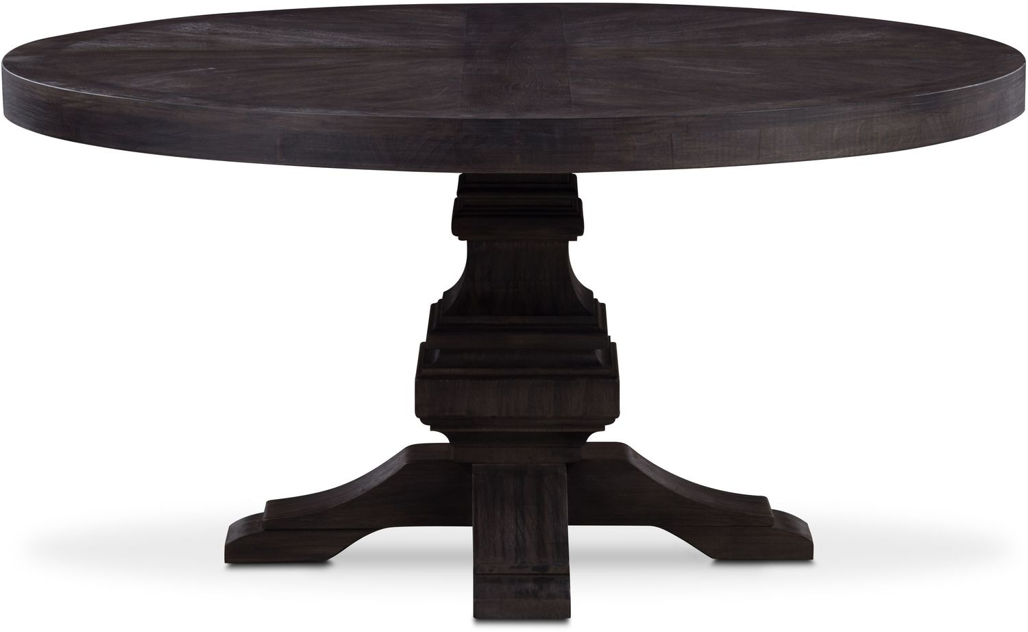 Lancaster Round Wood Top Table   Truffle