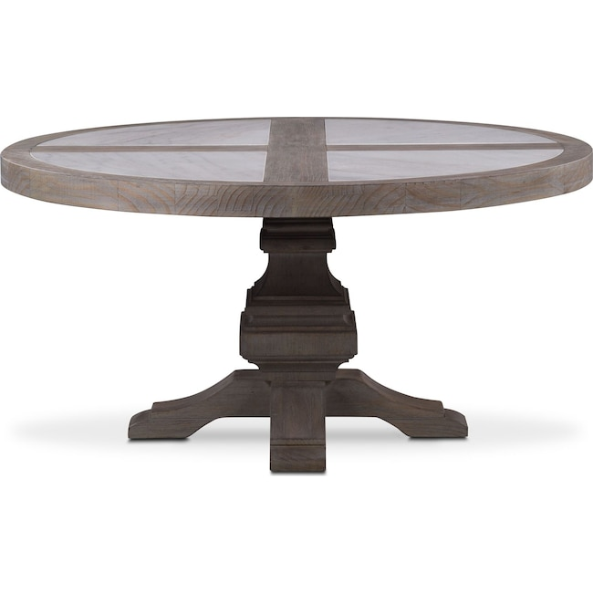 Large Size Of Marble Dining Om Table Restoration Hardware: Lancaster Round Marble Top Table - Parchment