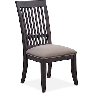 Lancaster Slat-Back Chair - Truffle