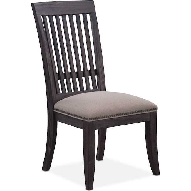 Dining Room Furniture - Lancaster Slat-Back Chair - Truffle