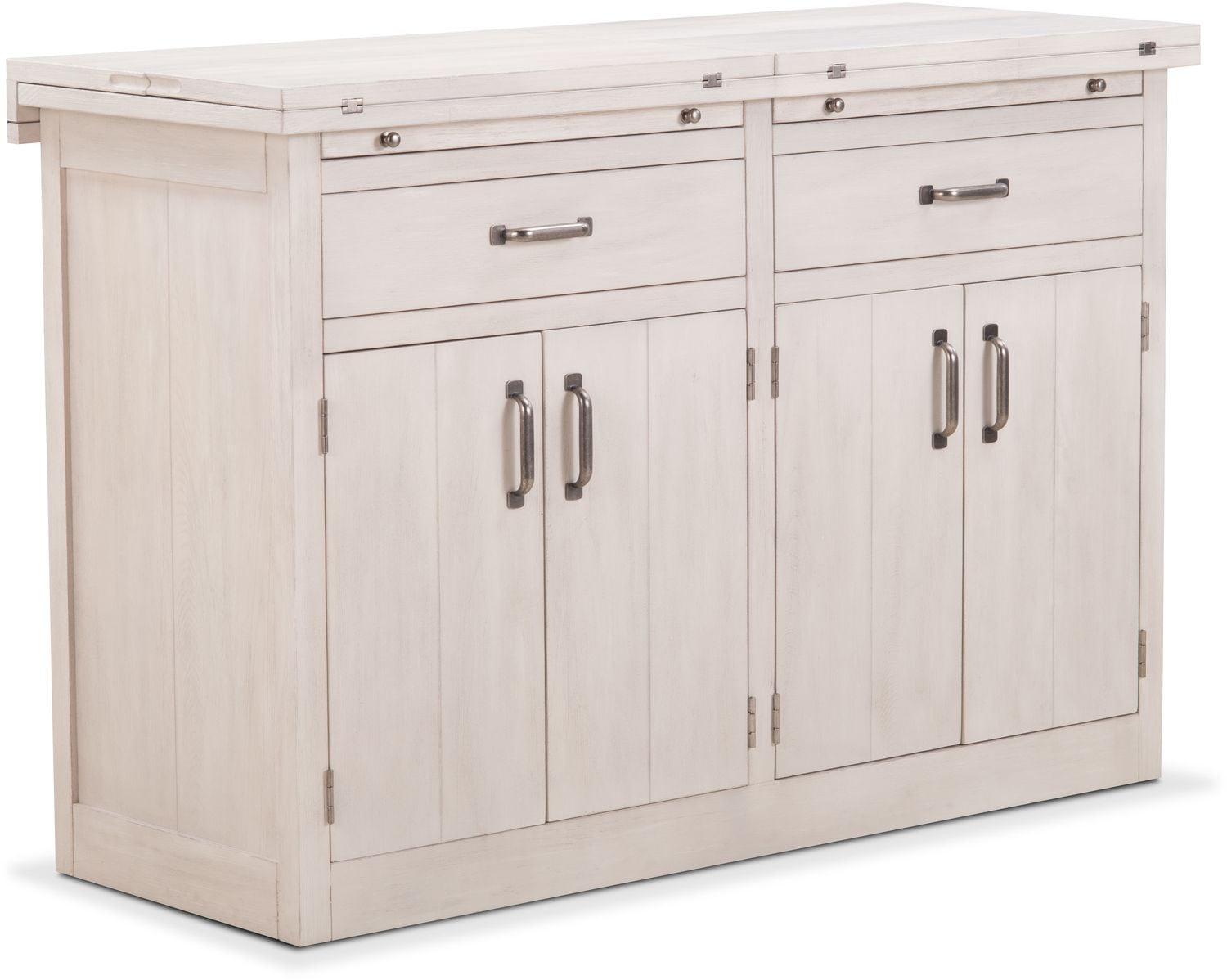 Dining Room Furniture - Lancaster Sideboard with Casters - Water White