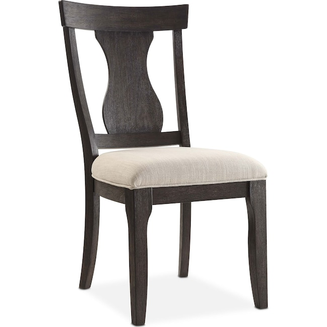 Dining Room Furniture - Lancaster Splat-Back Chair - Truffle